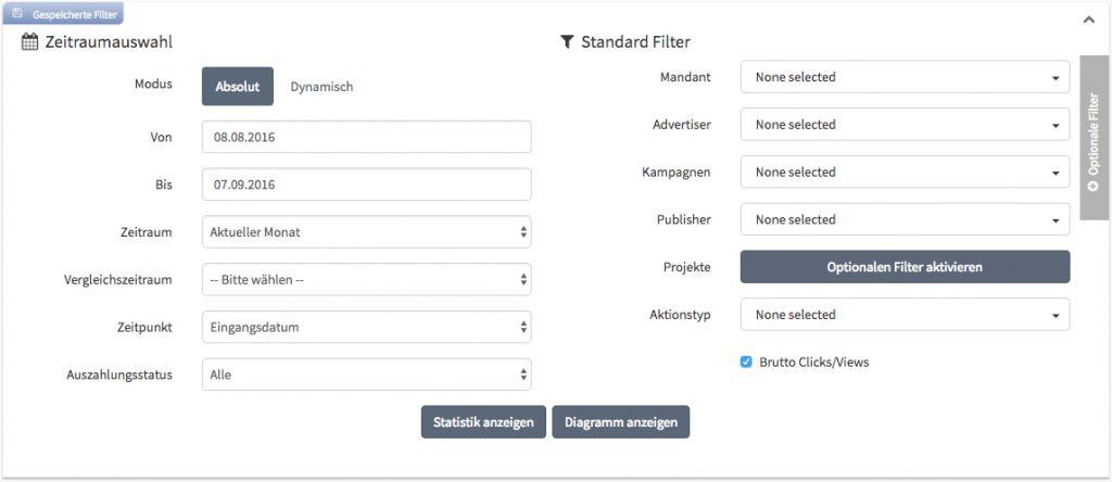 Statistik-Filter